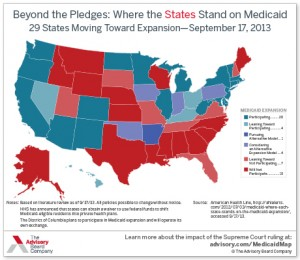 See States That Are Expanding Medicaid For Residents